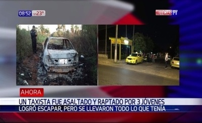 Taxista cuenta cómo se salvó de la muerte