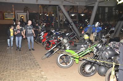 Fanáticos de las dos ruedas se congregaron en Ciudad del Este