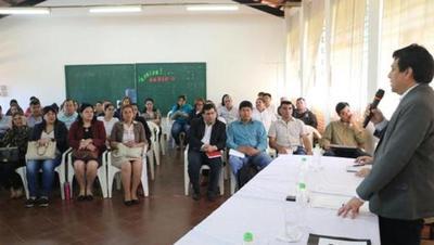 Ministro verifica avance de obras en Guairá