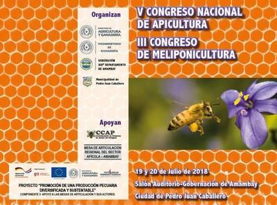 Congreso sobre producción de miel será en Pedro Juan