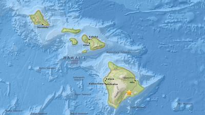 Volcán Kilauea provoca un sismo de 5,3 en Hawái