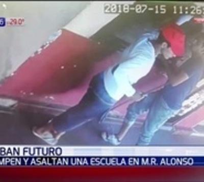 Roban por segunda vez un colegio de Mariano Roque Alonso