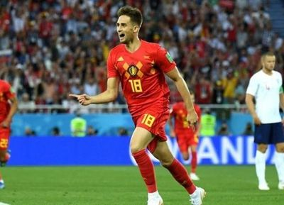 Con un golazo de Januzaj, Bélgica derrotó a Inglaterra y jugará con Japón en octavos