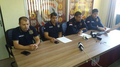 Conferencia de prensa sobre asalto a Guardián