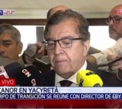 Nicanor afirma que no canjeó su banca por la dirección de la EBY