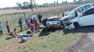 Un fallecido en triple choque en Ñumí