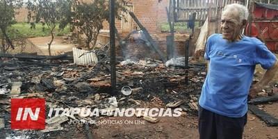 TENÍA QUE OPERARSE, PERO TRAS EL INCENDIO DE SU CASA SU INTERVENCIÓN ESTÁ EN DUDA.