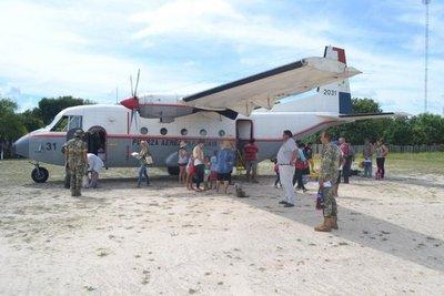 Fuerza Aérea suspende vuelos al Chaco