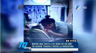 Paraguayo denuncia que su hijo es maltratado por su madre en Argentina