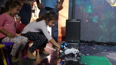 Los robots más tiernos de la Expo