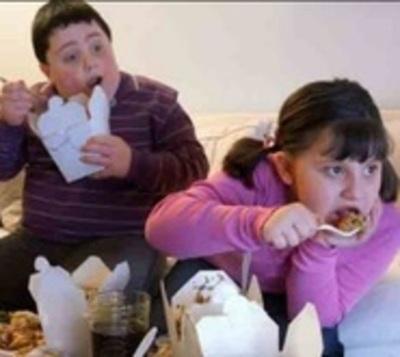 Preocupante nivel de obesidad en adolescentes y niños