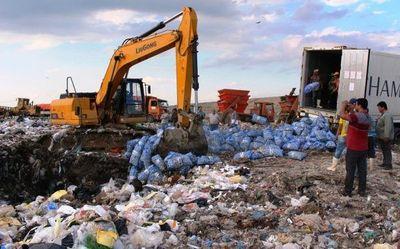 Senave destruyó 58 toneladas de ajos por infringir normas de calidad