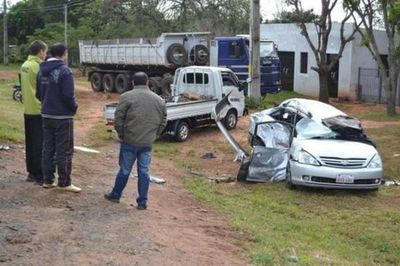 San Pedro: Madre e hijos mueren en choque vehicular