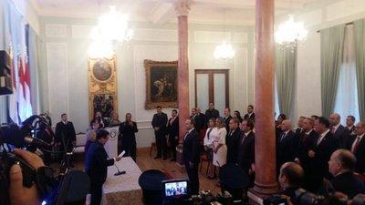 De Barros asume como ministro del Ambiente