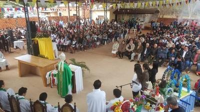 En Azotey ya cuentan con parroquia