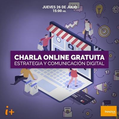 Charla online gratuita sobre estrategia y comunicación digital