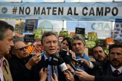 Macri defendió la eliminación de retenciones y ratificó el rumbo del país