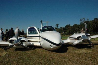Avioneta del MAG aterrizó en Yabebyry