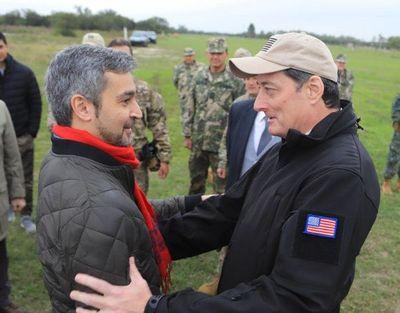 Mario Abdo Benitez inicia viaje a Guatemala y Estados Unidos