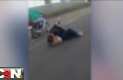 Brutal pelea estudiantil fue grabada en Itapúa