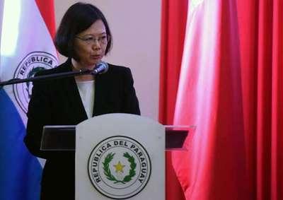 China trata de trabar viaje de taiwanesa Ing