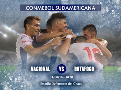 Nacional se mide a Botafogo en Sajonia