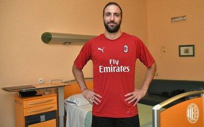Higuaín ya es del Milan