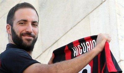 Higuaín: En el Chelsea solo me quería Sarri y en el Milan, todos