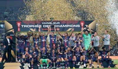El PSG supera al Mónaco y gana la Supercopa Francesa