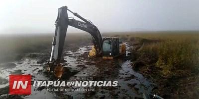 NO HAY MAQUINARIAS DEL MOPC A CARGO DE LA GOBERNACIÓN DE ITAPÚA.