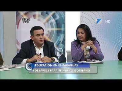 Entrevista al futuro Ministro de Educación Eduardo Petta y su equipo.
