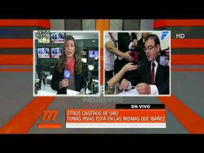 Diputado Tomás Rivas en las mismas que José María Ibáñez