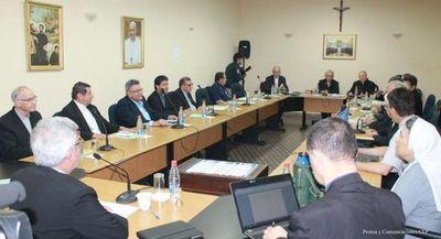 Obispos piden al Poder Ejecutivo postergar aprobación de las Notas Reversales