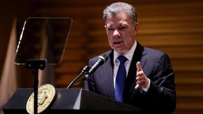 Santos deja el cargo deseando lo mejor al próximo presidente de Colombia
