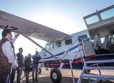 Sol del Paraguay inauguró vuelo entre Hernandarias y Asunción