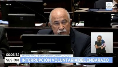 Comenzó el largo debate sobre el aborto en el Senado argentino