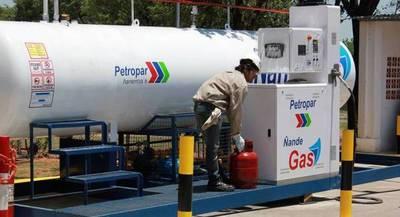 GLP importado por Paraguay subió en 14,5%, según datos del MIC