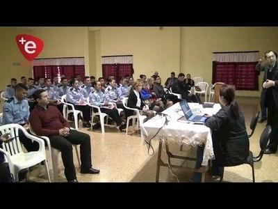 HABLEMOS DE TURISMO: CHARLA FUE DIRIGIDA A FUTUROS AGENTES POLICIALES