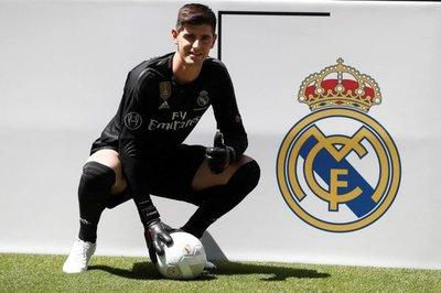 """Courtois cumple """"un sueño"""" al llegar al Madrid"""