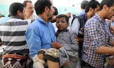 Decenas de muertos en ataque contra un autobús que transportaba niños en Yemen