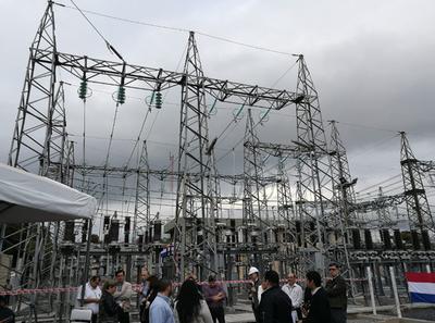 ANDE inaugura ampliación de las instalaciones en Lambaré
