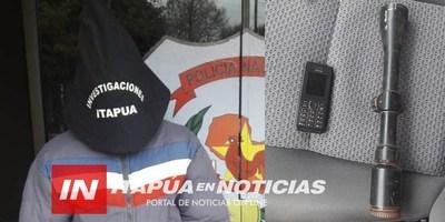 EDELIRA: ALLANAN VIVIENDA TRAS HOMICIDIO DEL PASADO SÁBADO EN ITAPÚA POTY.