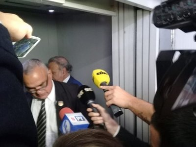 """G. Daher huye de la prensa y dice que hablará """"de lo que yo quiero"""""""