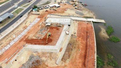 MOPC promete entregar obra concluida del Muelle Deportivo este fin de mes
