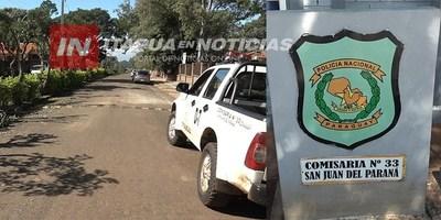 INSEGURIDAD EN SAN JUAN DEL PARANÁ: OTRO MILLONARIO ROBO