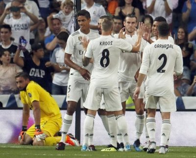 Bale lidera al Real Madrid
