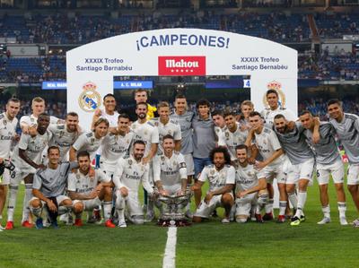 Real Madrid levanta su primera Copa de la temporada