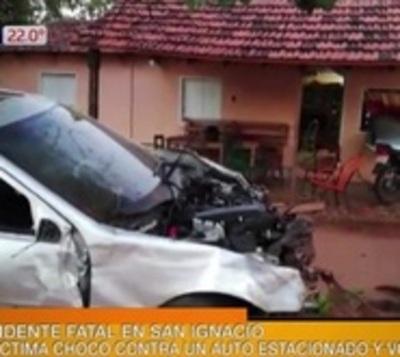 Funcionario de Fiscalía fallece en accidente en San Ignacio