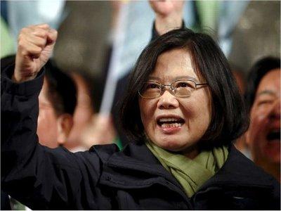 Presidenta taiwanesa inicia gira que incluye Paraguay