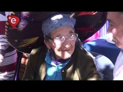 Viuda de excombatiente celebró sus 101 años